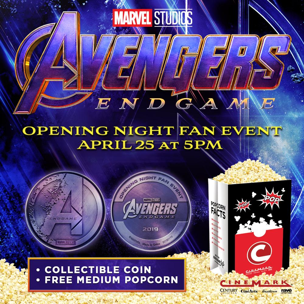 opening night fan event avengers endgame at an amc - 1000×1000