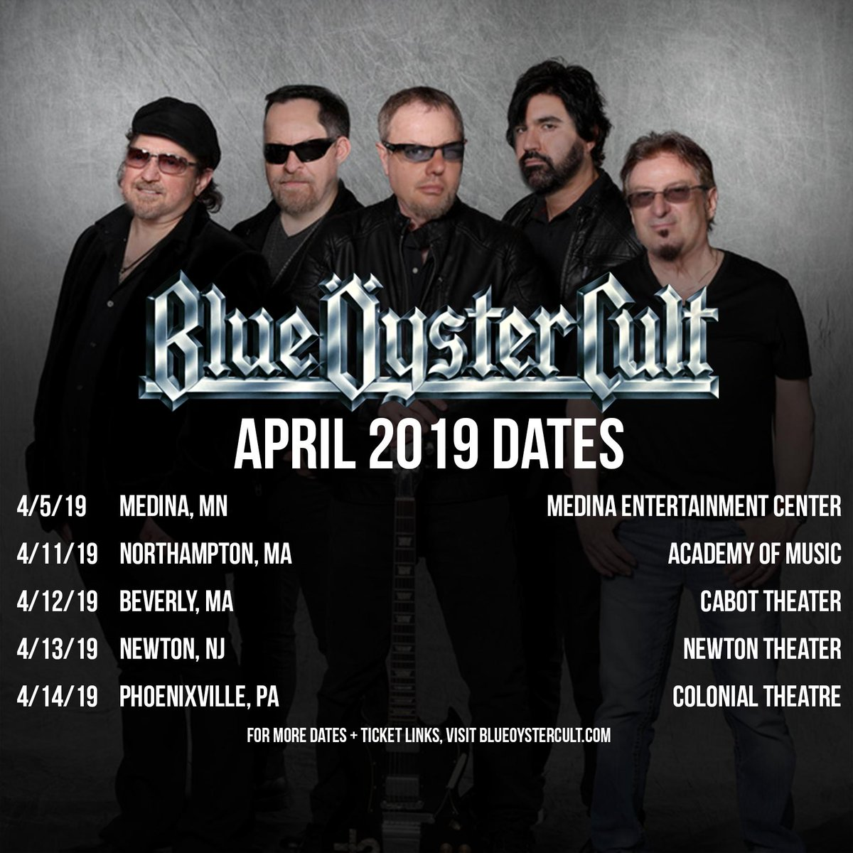 Image result for blue oyster cult academy of music northampton
