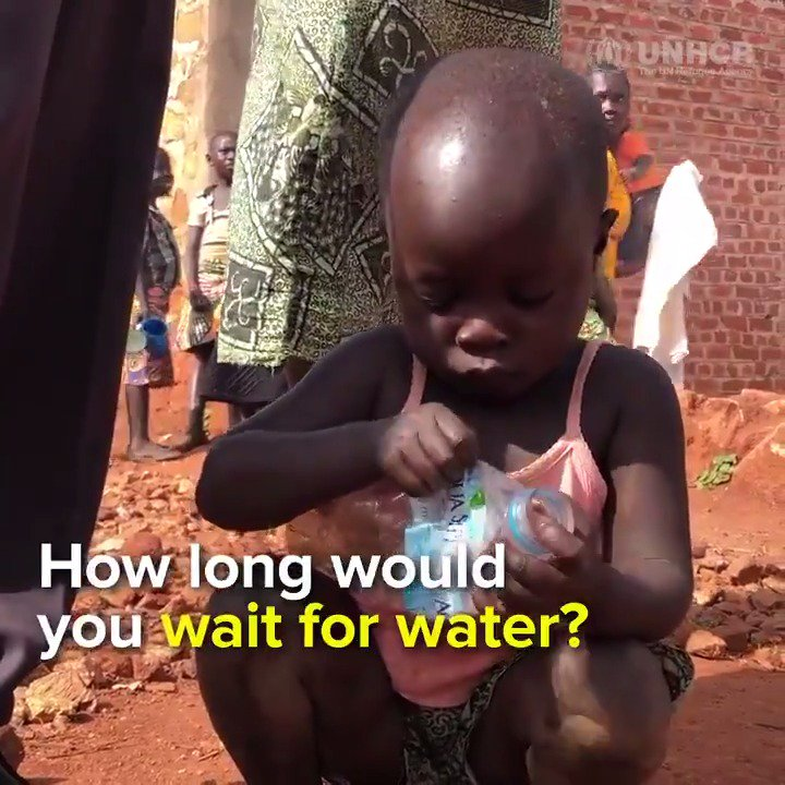 How long would you wait for water? 🚰🥤