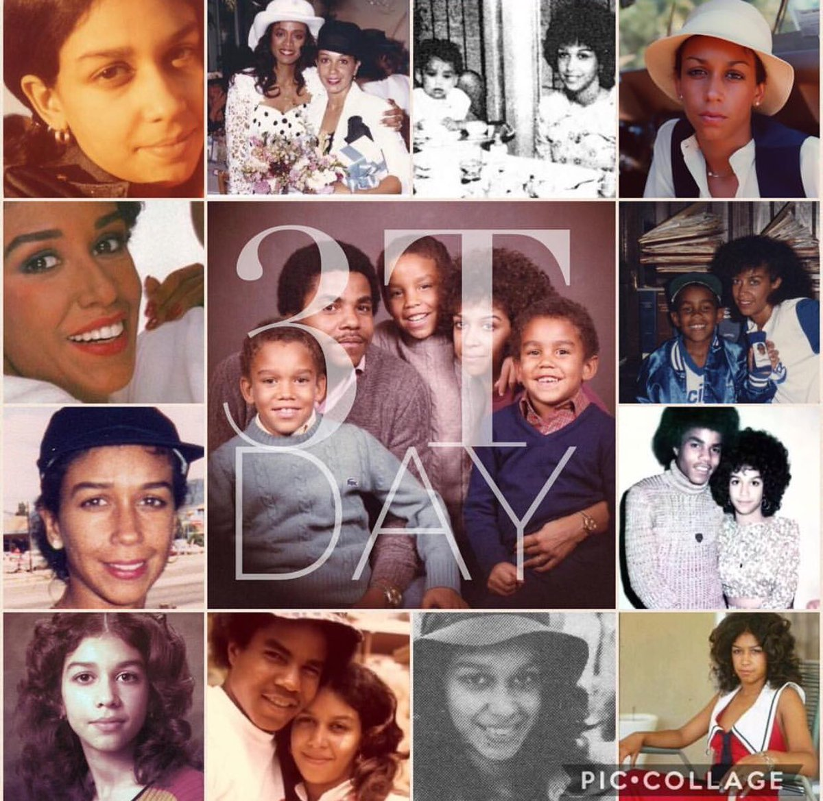 Every @3tworld fan holds a special place in the heart for #deedeejackson  1 April is her birthday & known as #3TDay. The day 4 the mother @tjjackson9 @tarylljackson @tajjackson 2 honor the footprints and legacy she left  which is continued through her sons and @DDJFoundation pic.twitter.com/MpjrTquN1I