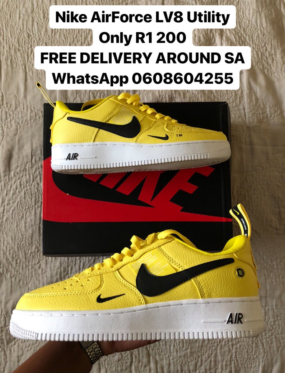 low priced 5151b f2dbf Nike Air Force - LV8 Utility Only R1 200 FREE DELIVERY AROUND SA WhatsApp  0608604255  BlakStar Shop  Nike  LV8Utility  AirForce pic.twitter.com 2duhOEnUnB