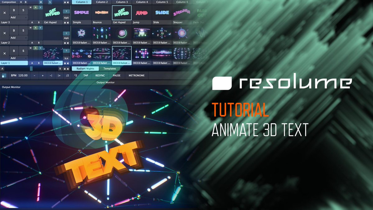 Resolume - @Resolume Download Twitter MP4 Videos and Browse Tweets