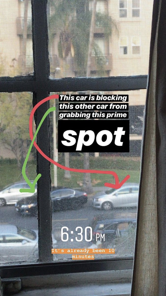 Parking in Koreatown, Los Angeles. A thread:
