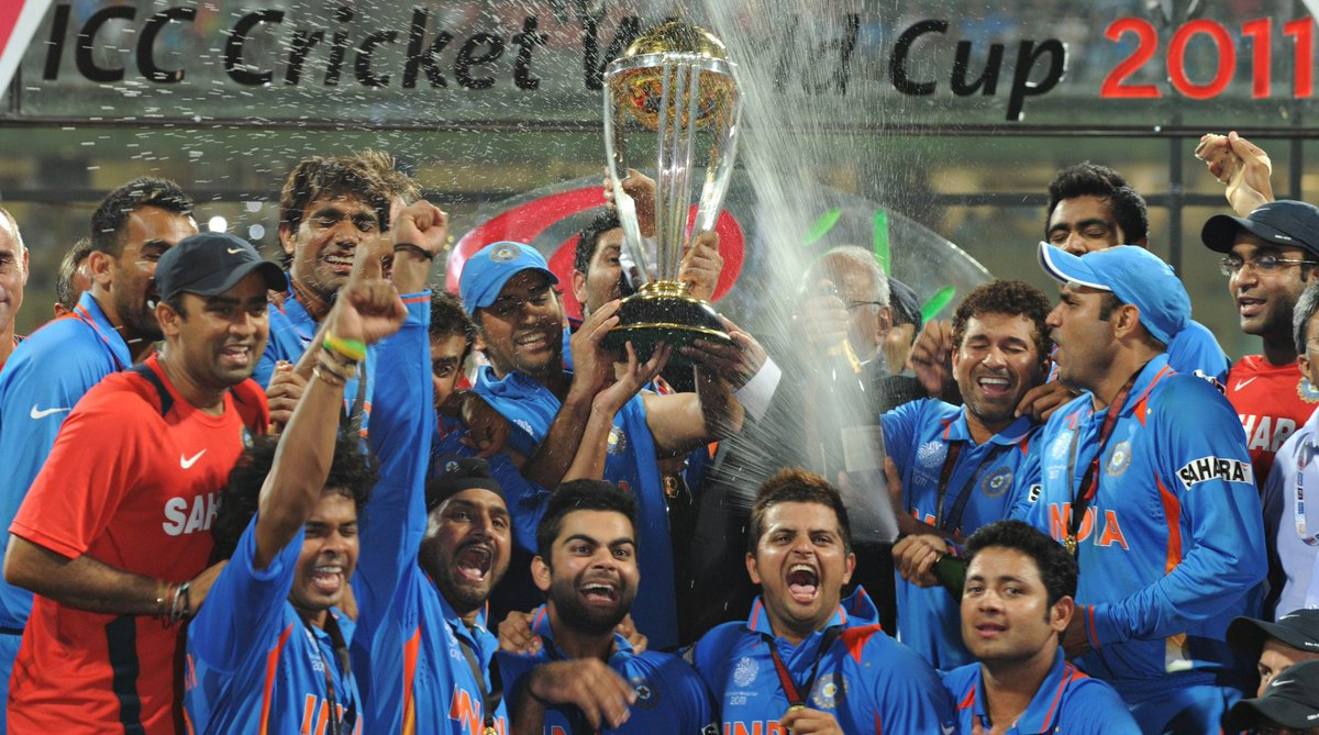 Cricbuzz On Twitter Onthisday In 2011 India Sealed Their Second World Cup Title What S Your Favorite Memory Of The 2011 World Cup
