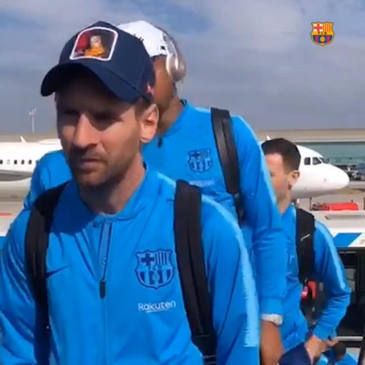 ⚽️🇪🇸  #Barça   🔜 #BetisBarça 🛫 Villarreal 🏆 #LaLiga 🔵🔴 #WeColorFootball [Vía: FCBarcelona_es]  #Barça #FCBarcelona #ForçaBarça #VillarrealBarça ⚽️🏆