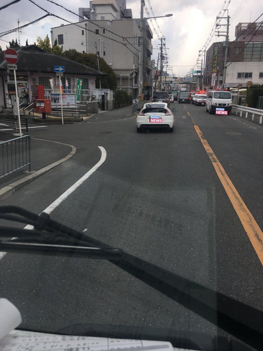 大和路線の志紀駅で人身事故の現場画像