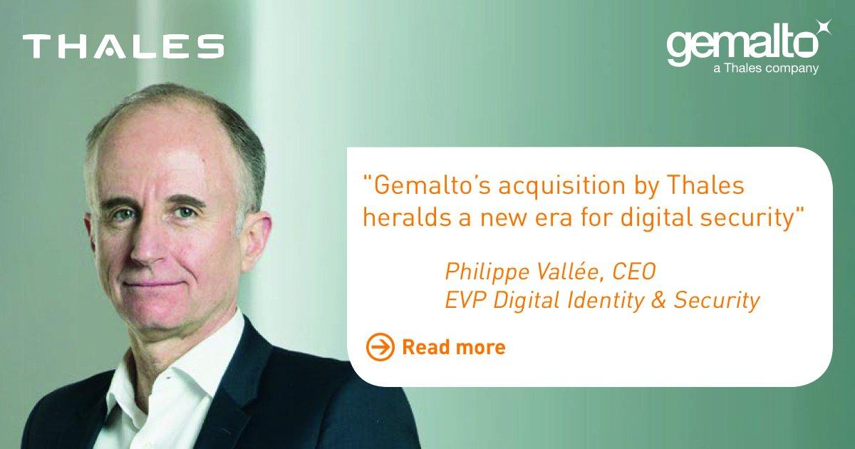 Thales & Gemalto Integration
