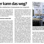Image for the Tweet beginning: #Würselen Sanieren oder gleich neu