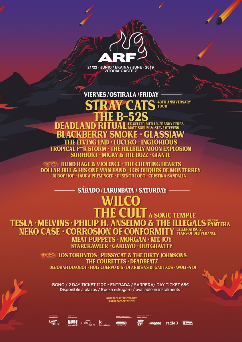 Azkena Rock Festival 2019. The Cult, Melvins, Neko Case y Mtt.Joy cierran el cartel - Página 7 D3IS1bkW4AAcqoa