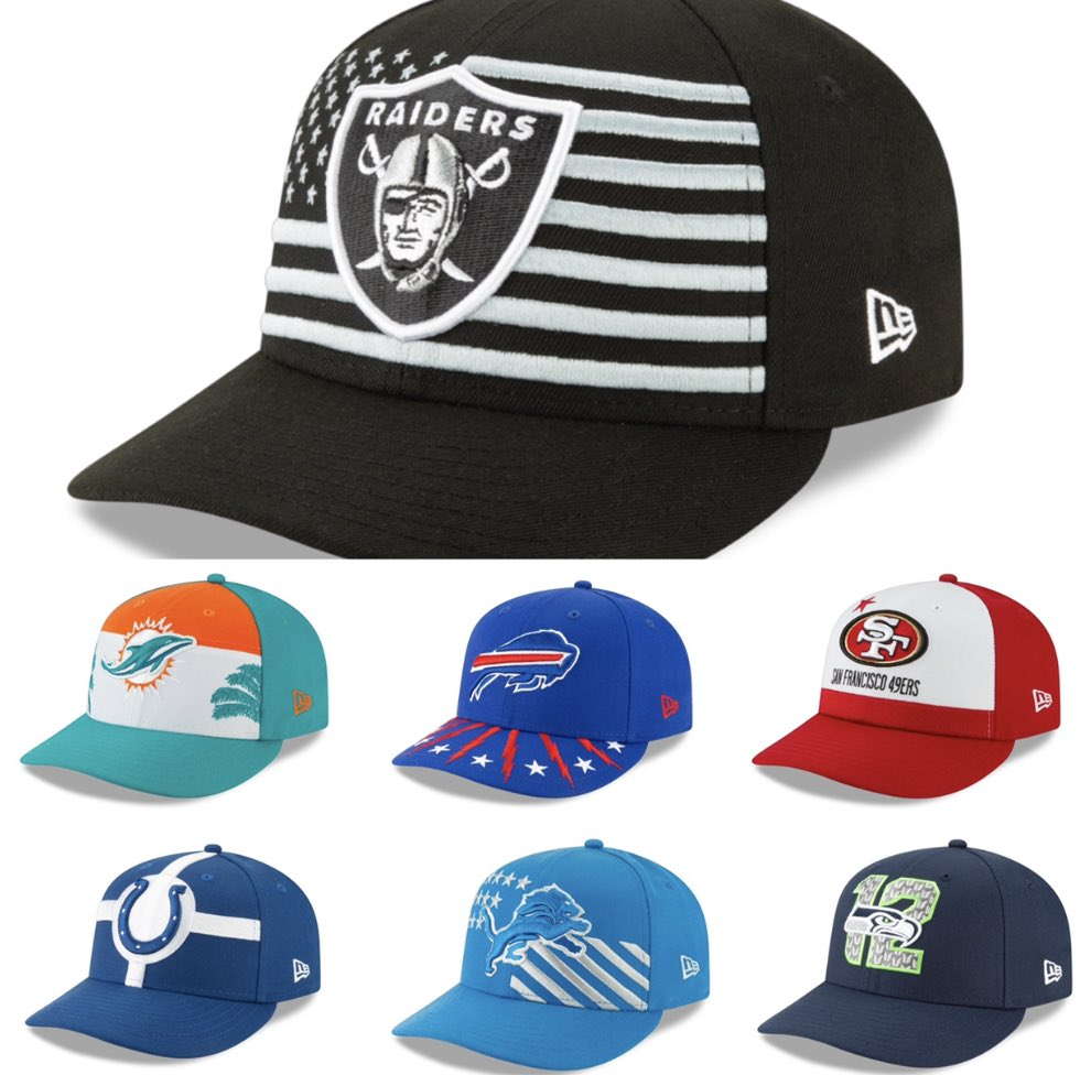 new era draft hats