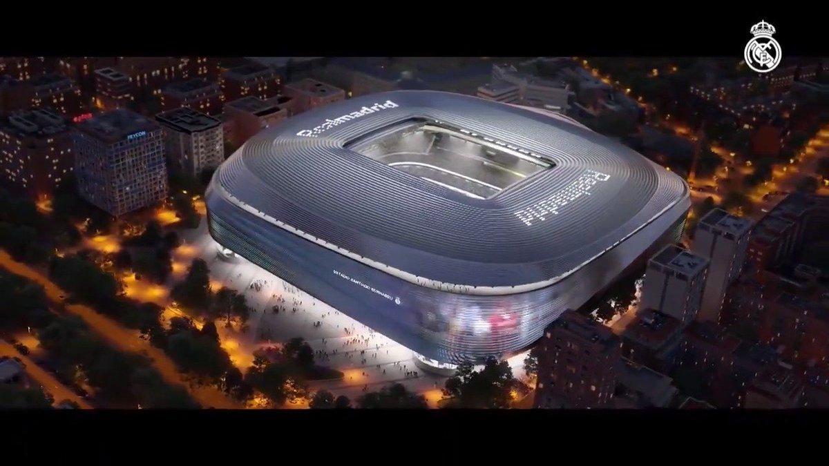🆕🏟 ¡Así será el nuevo estadio Santiago Bernabéu! #HalaMadrid