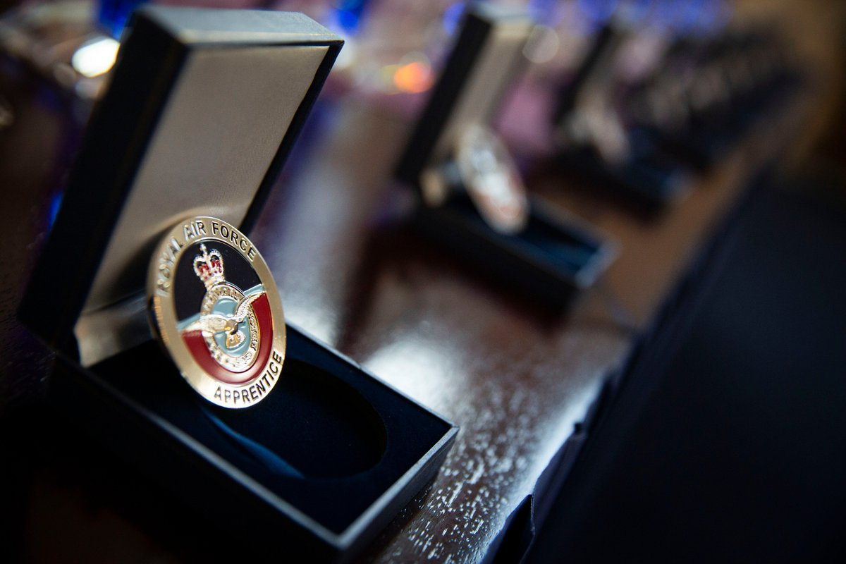 """The RAF has won the prestigious """"Apprentice Employer of the Year"""" award at the Annual Apprenticeship Conference and was selected from 350 other entries.  The RAF is one the largest providers of apprenticeships, offering 2,900 across 24 different trades.  http://bit.ly/2Vbq50B"""