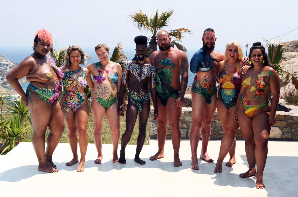 Charlotte On Twitter Your Naked Beach Hosts Channel4 Series