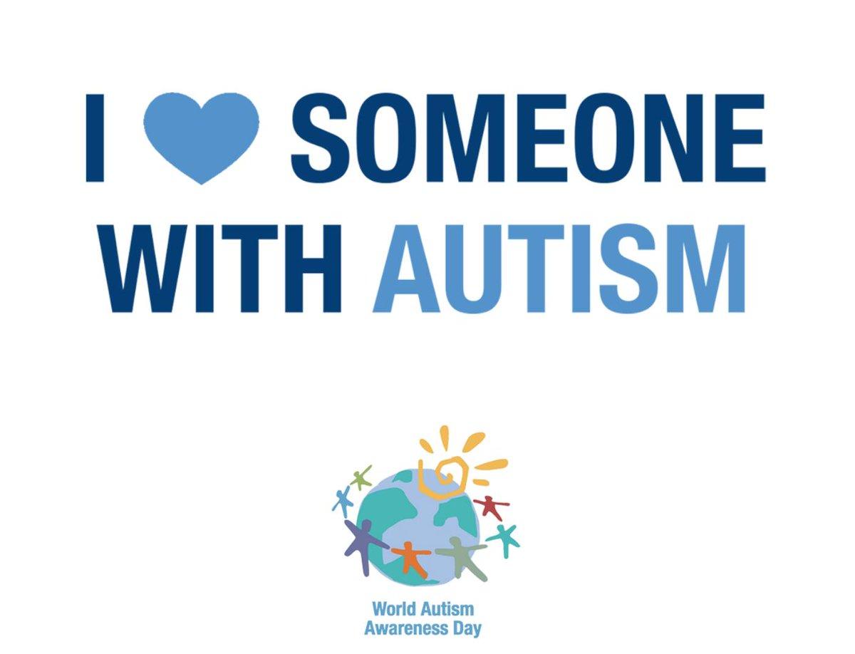 Happy #WorldAutismAwarenessDay 💙Who do you love?