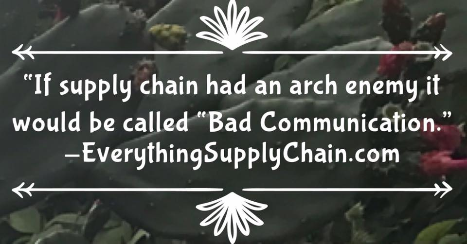 view Supply Chain and