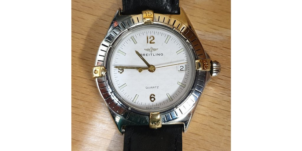 Just in and ready for sale #Breitling #Colt Quartz  Call us on 01438 728430 #breitling #BreitlingWatch #breitlingnavitimer #breitlingavenger #breitlingwatches #breitlingchronomatpic.twitter.com/uUWLQHOD0O