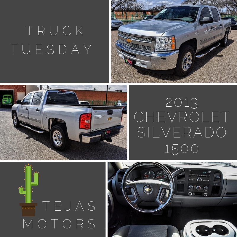 Visit us online to learn more: http://bit.ly/2FIjvco #ChevyTruck #PreOwned #ChevySilverado #Tejas #Lubbockpic.twitter.com/amepq5DDD0