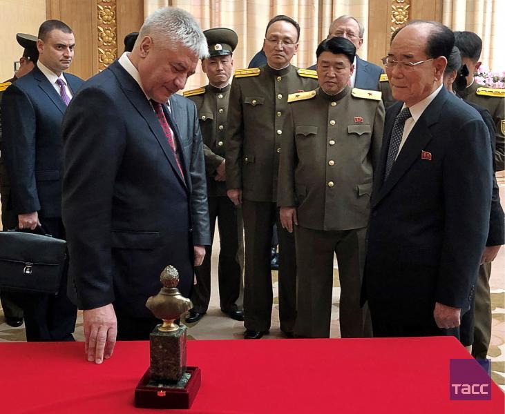 Колокольцев в Пхеньяне