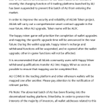 Image for the Tweet beginning: AiLink's smart contract upgrade Announcement