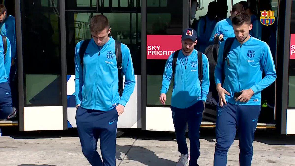 ⚽️🇪🇸  #Barça   🔜 #BetisBarça 🛬 Villarreal 🏆 #LaLiga 🔵🔴 #WeColorFootball [Vía: FCBarcelona_es]  #Barça #FCBarcelona #ForçaBarça #VillarrealBarça ⚽️🏆