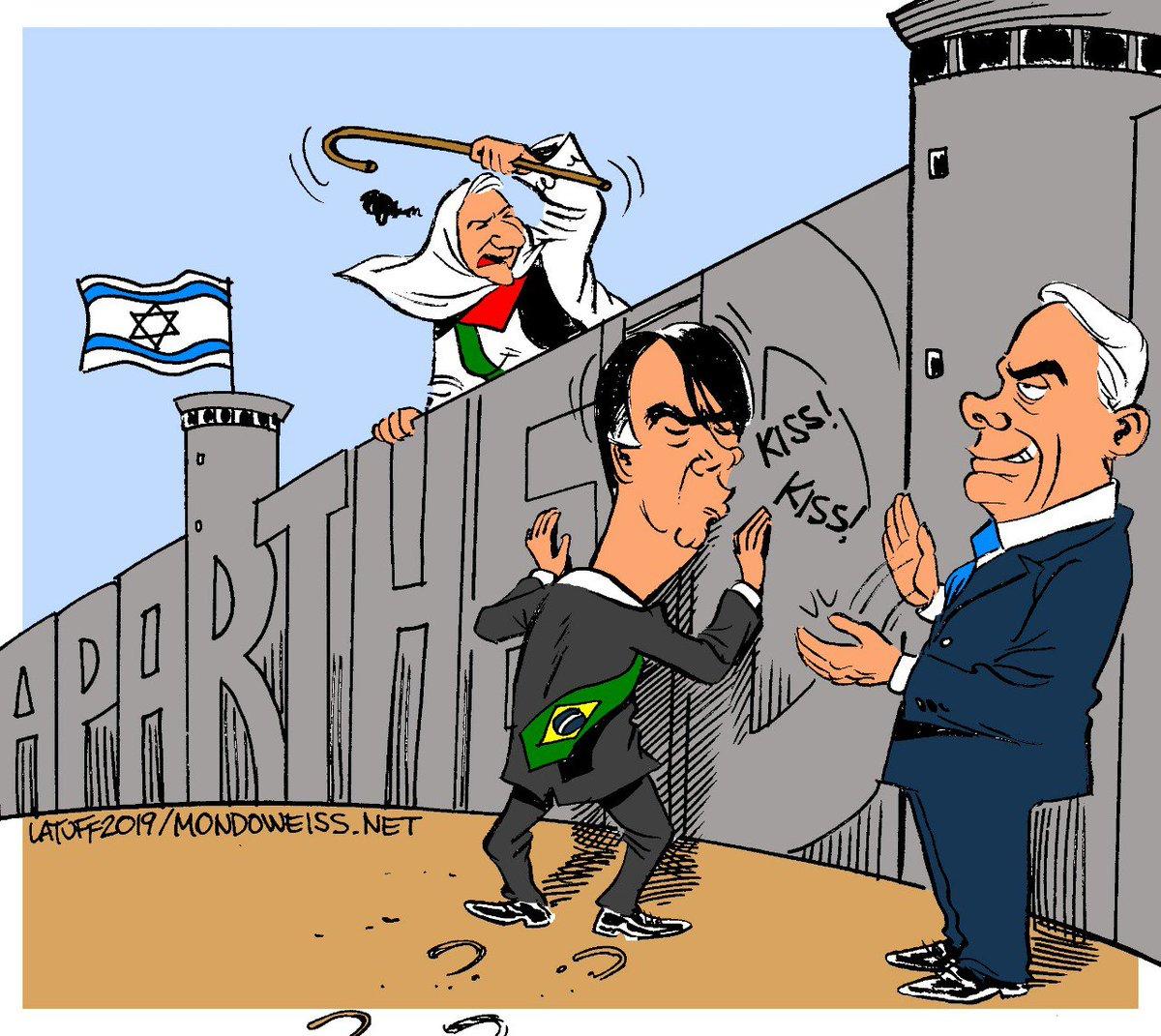 """Carlos Latuff on Twitter: """"It's not secret that Netanyahu is ..."""