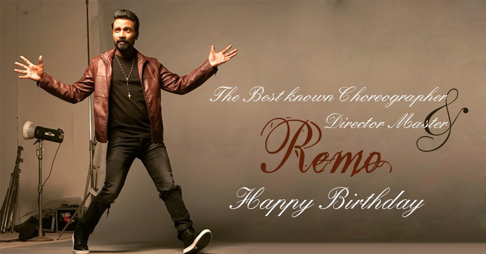 """The Indian Dancer, Choreographer, Actor and Film Director """"Remo D'Souza"""" A Very Happy Birthday!#RadioChai #happybirthdayremodsouza #Dancer #Indianchoreographer #bollyworddirector http://bit.ly/2W9ntjBpic.twitter.com/Kwded9pAun"""