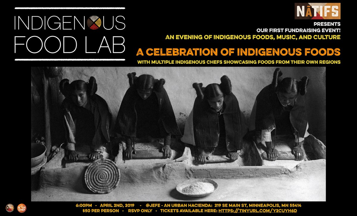 TONIGHT! Still a few tickets available. 13 Chef stations featuring regional indigenous cuisine, live art, live music, silent auction, special guest speakers, cookbook signing! eventbrite.com/e/celebration-…