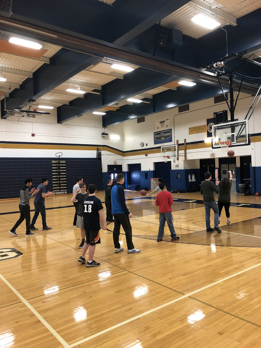 Sweet Home Unified prepping for basketball season. Go Panthers! @SHCSDAthletics @SpecOlympicsNY