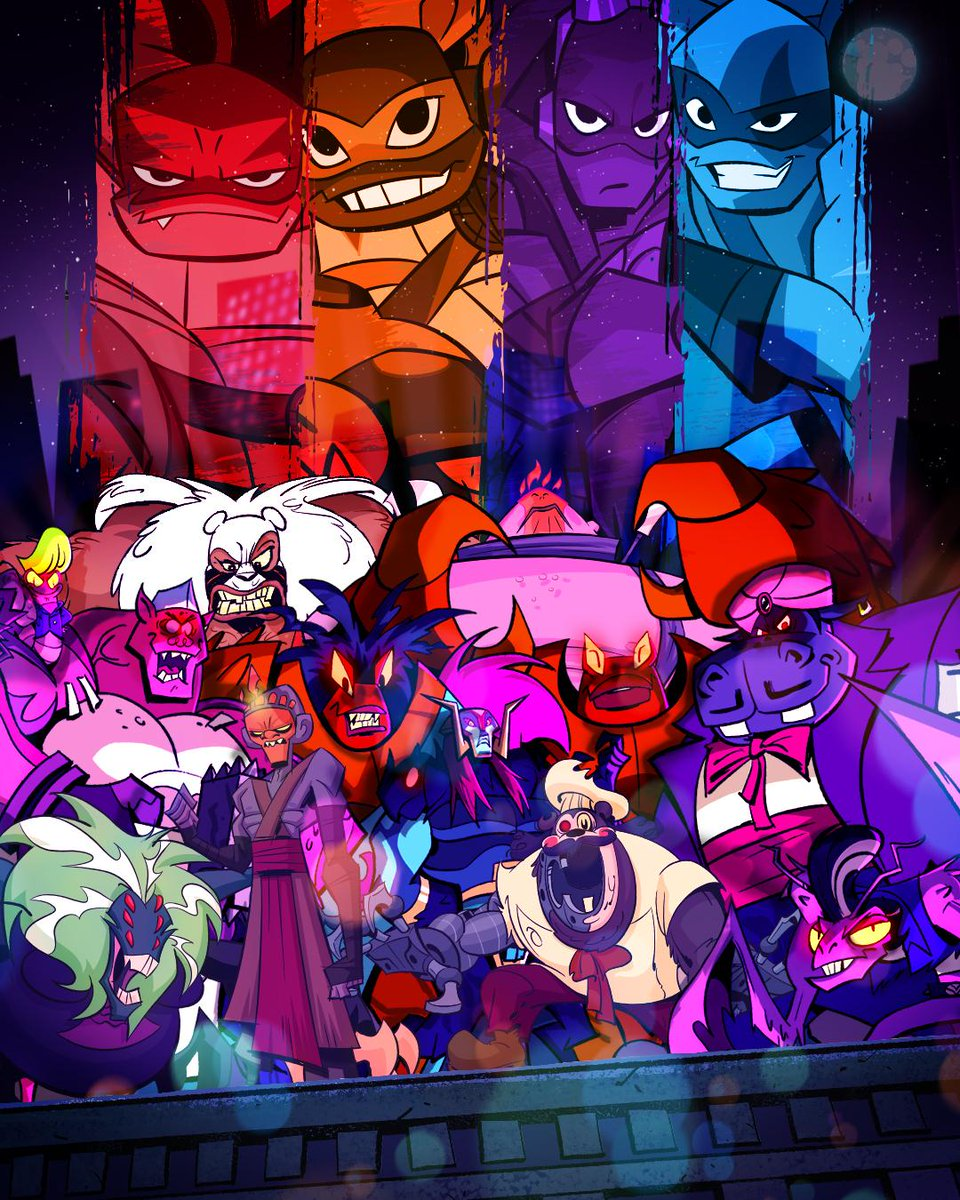 Tmnt On Twitter Rise Of The Tmnt Has A Bunch Of Villains Can You Name Them All