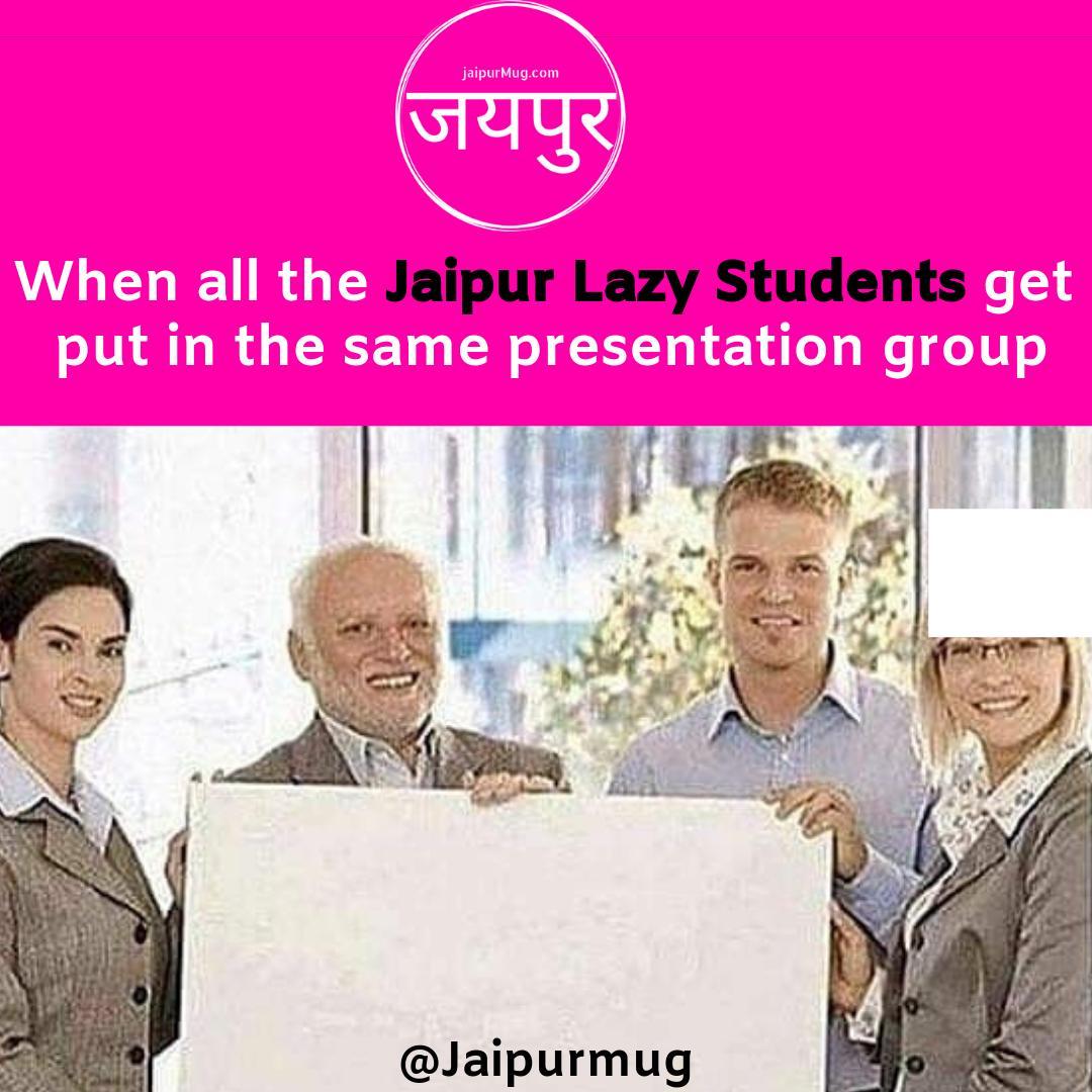 Tag Your Jaipur Lazy Students  #jaipur #meme #memes #aprilfool #jaipurmug #jaipurcity #rajasthan #gags  #comedy #memeoftheday #justforfun #laughs #jaipurmemes pic.twitter.com/XCKrC0xrjl