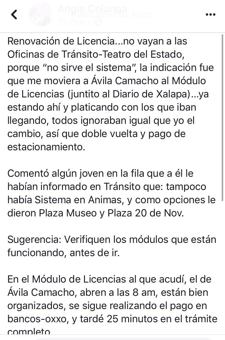 Transporte Veracruz On Twitter Hola Buen Día Los Módulos