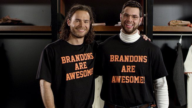 How cool that Crawford & Belt got their 200th double on the same night #SFGiants #BrandonsAreAwesome