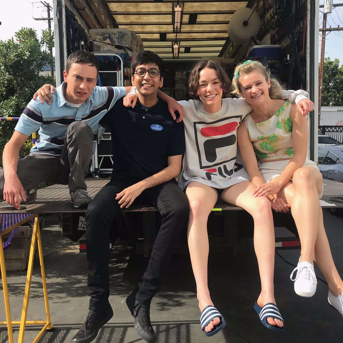 Back in production just in time for #WorldAutismAwarenessDay 💙 Who's excited for Atypical Season 3?