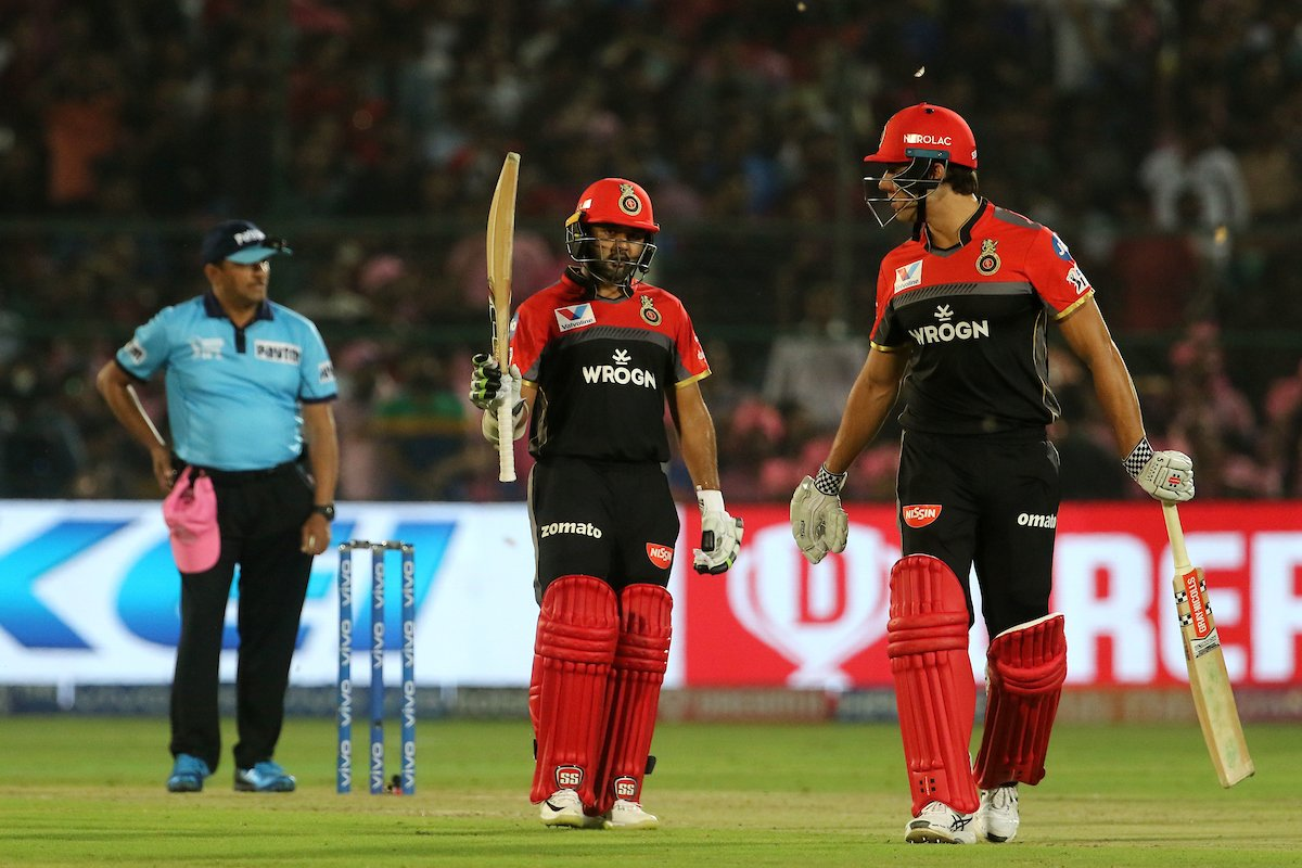 #RRvRCB - RCB loses yet another match!