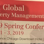Image for the Tweet beginning: Great turnout at the #NAIGLOBALPROPERTYMANAGEMENT