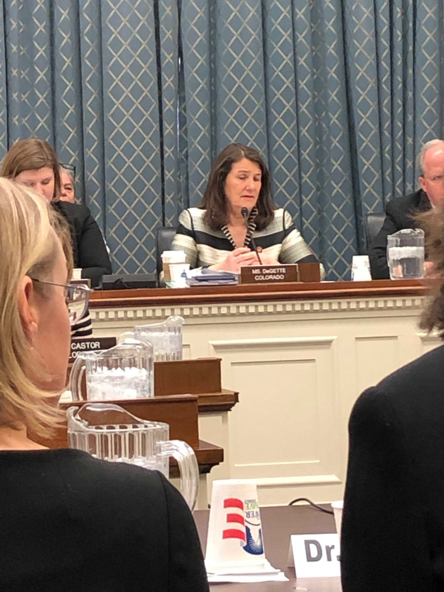 .⁦⁦@RepDianaDeGette⁩ thank you for your commitment to solving the problem of increasing #insulin price ⁦@TheEndoSociety⁩ appreciated the opportunity to testify before your Subcmte today #diabetes