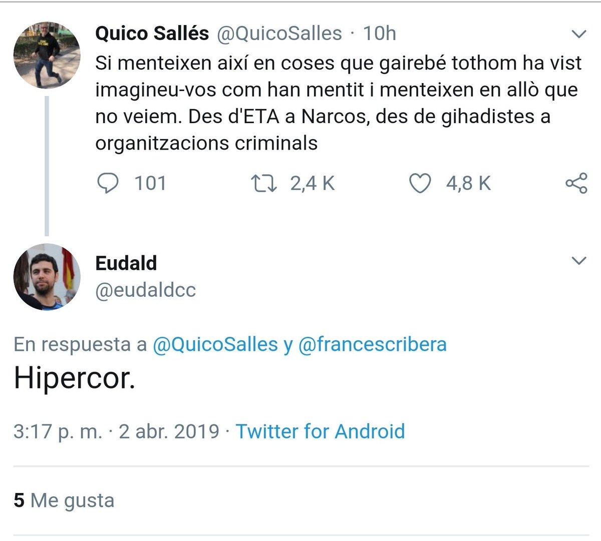 """Eudald Calvo, alcalde de Argentona (CUP): """"Hipercor"""""""