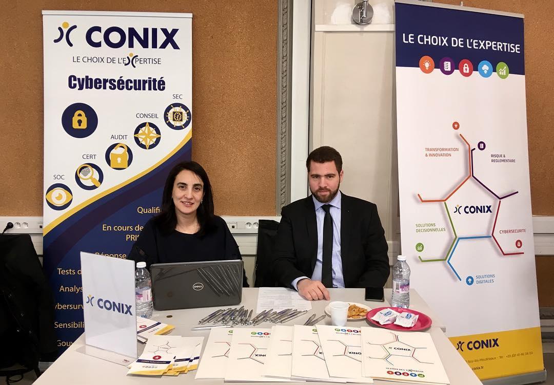 Equipe de recrutement CONIX