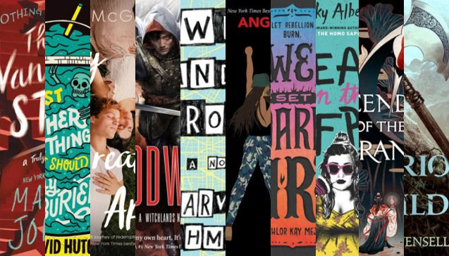 10 YA books teen readers are loving right now (in their own words). bit.ly/2TO9Q7V