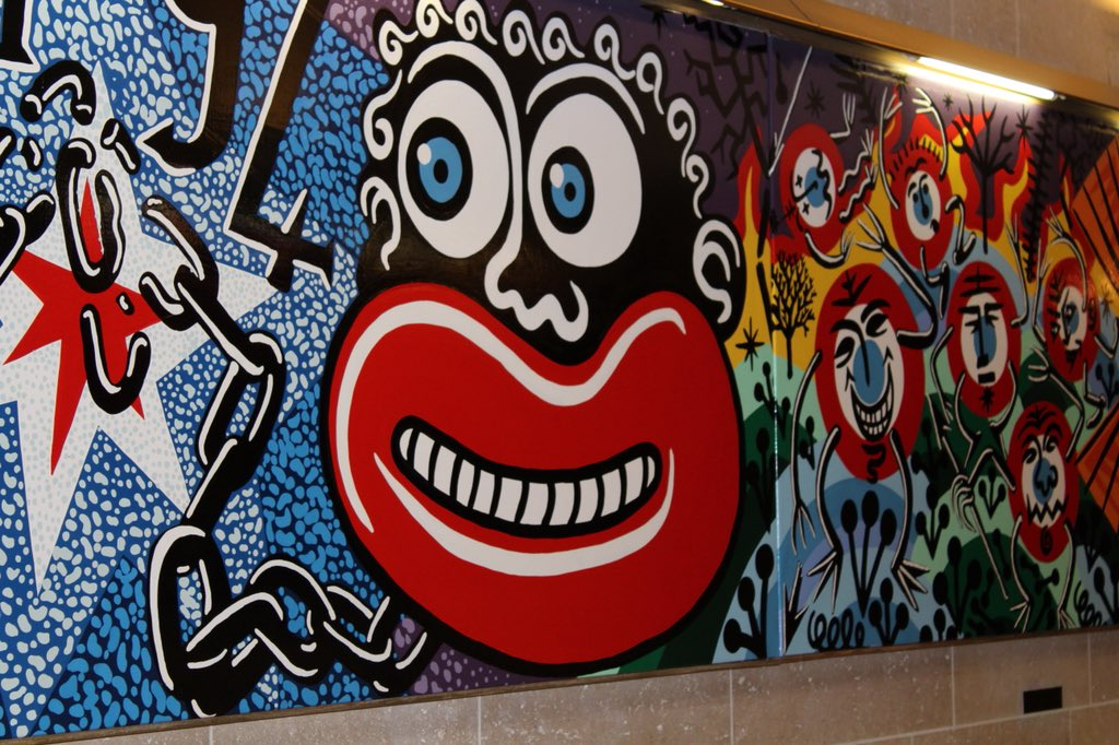 French National Assembly criticised for mural depicting racist stereotypes