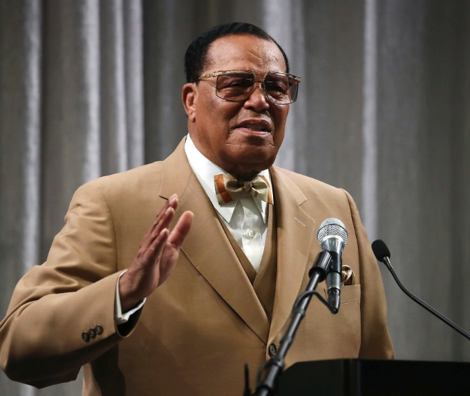 Minister louis farrakhan pays tribute to nipsey hussle 🙏