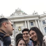 Image for the Tweet beginning: Our #econometrics nerds in Vienna
