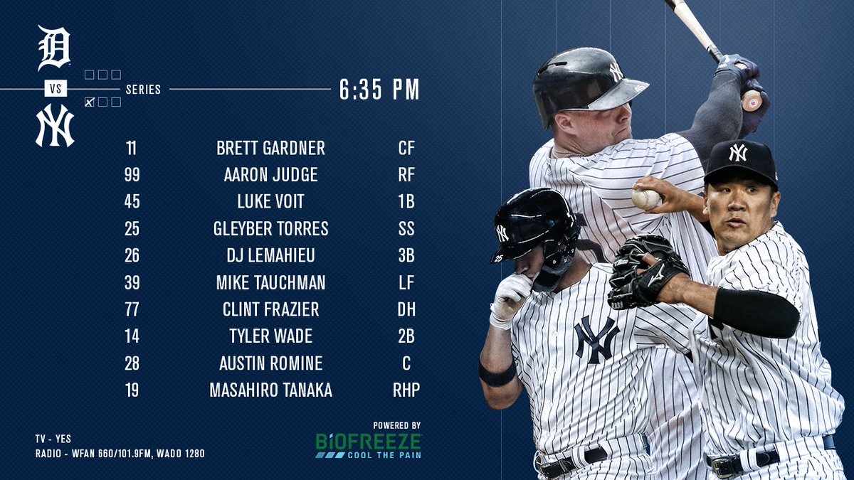 It's #TanakaTime Tuesday.Powered by @Biofreeze