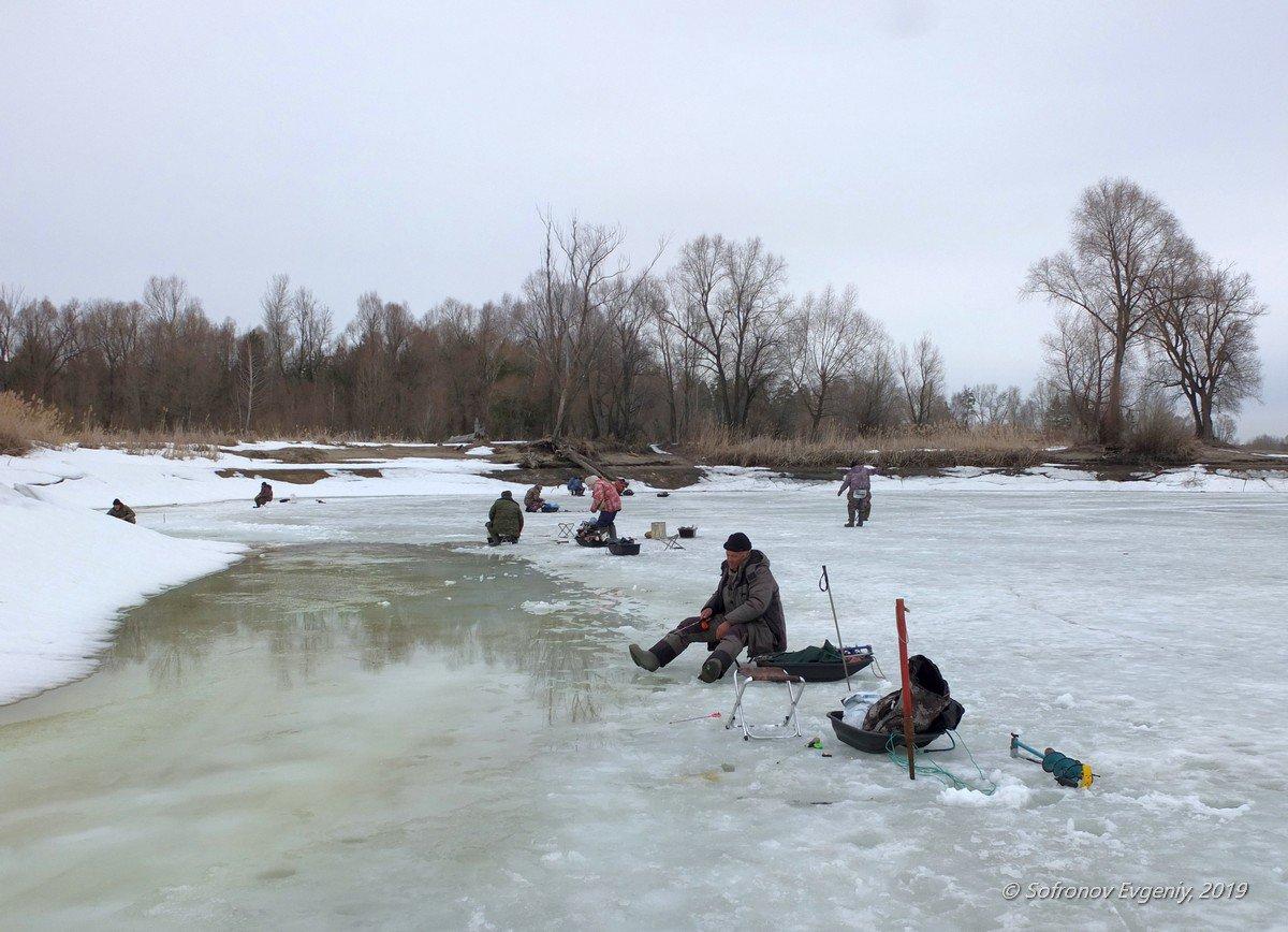 Зимняя рыбалка в димитровграде видео на реке черемшан