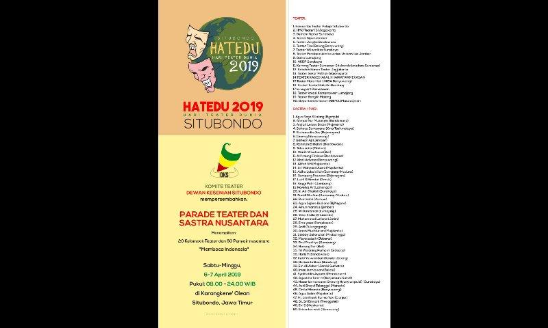 Qolbu Persada On Twitter Hatedu 2019 Situbondo Hari