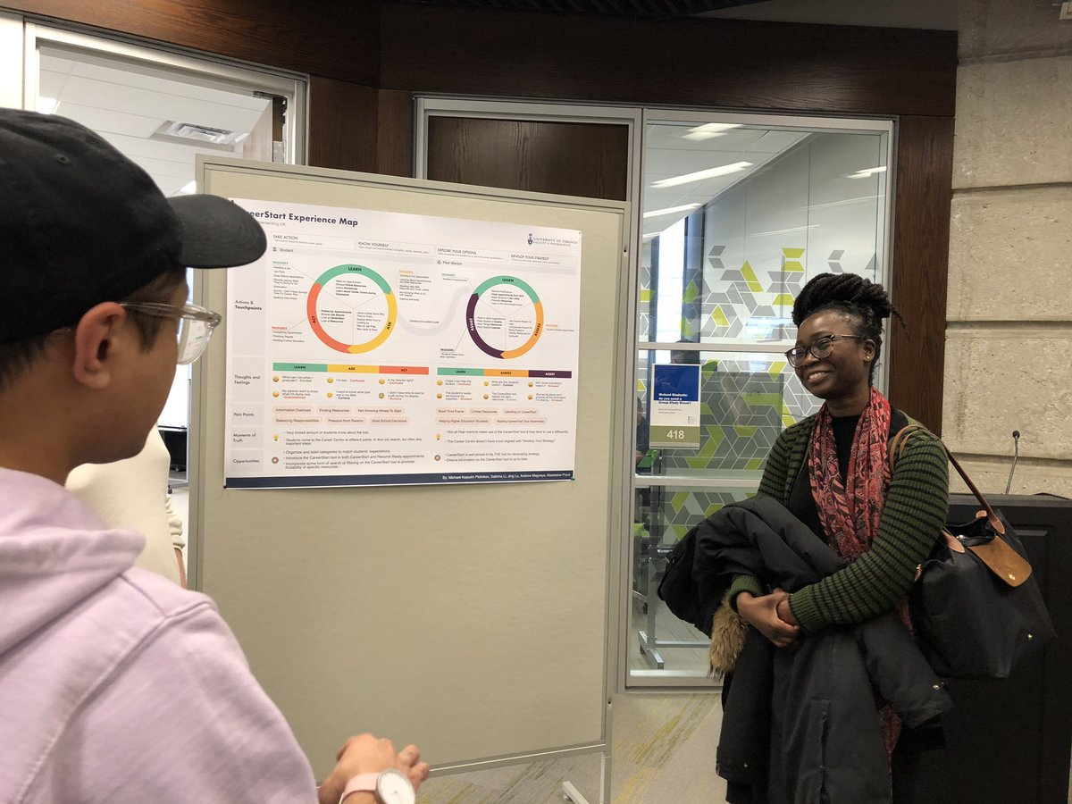 University Of Toronto Faculty Of Information On Twitter Head Over To The Inforum 4th Floor Of Bissell Building To See The Work Of User Experience Design Students At The Facultyof Information Uxd