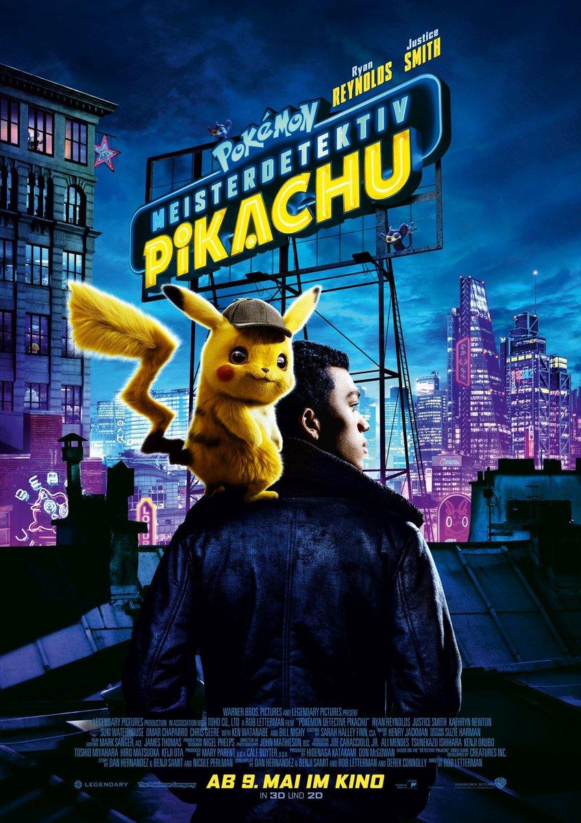 Resultado de imagen de Pokemon detective pikachu posters