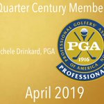 Image for the Tweet beginning: Congratulations Michele Drinkard, PGA, who
