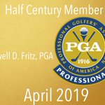 Image for the Tweet beginning: Lowell D. Fritz, PGA is