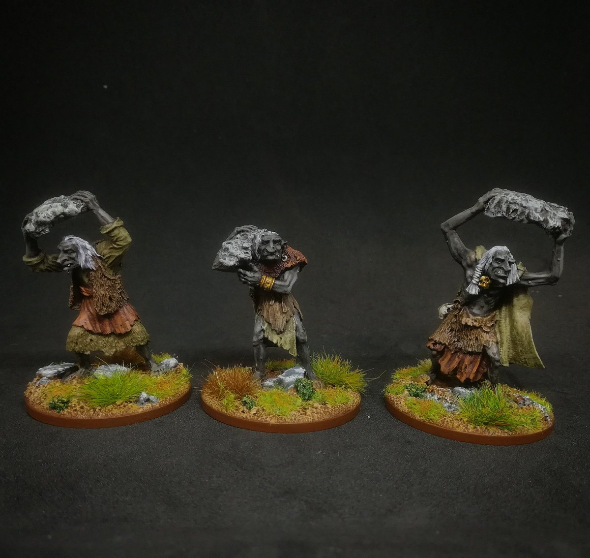 Trolls from #ralparthaminiatures https://t.co/WC5OokwWtg
